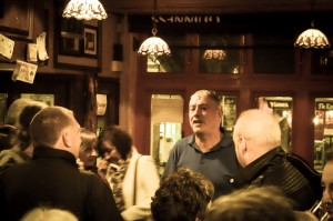 Balladeer at Murty Rabbits pub in Galway