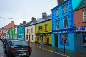 The colorful town of Dingle