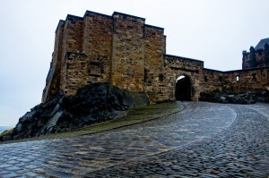 Up to the castle