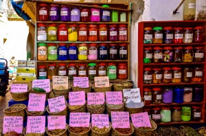 Check out the spices and medicinals