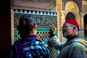 Mali gets a lesson in Arabic from Lazrak
