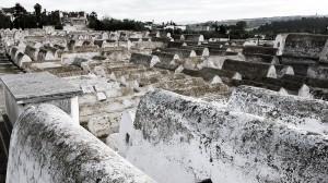 Jewish cemetary in Fez