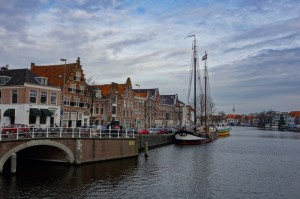 Haarlem's outer canal