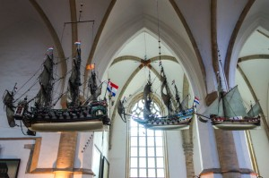 Ship models from the 1400s when these types of were built in Haarlem