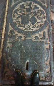 Medieval grave in St. Bavo