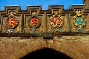 Entering the Linlithgow Castle ruins