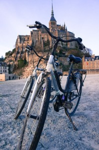 Biking to the Mont