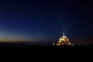 Starry Mont Saint Michel