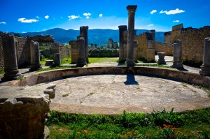 Volubilis is an ancient Roman city