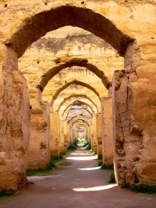 Royal Stables in the Imperial City of Meknes