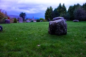 Kenmare stone circle, the largest in Ireland