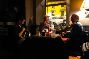 Local musicians at The Horseshoe Pub in Kenmare