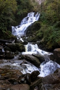 Torc waterfall near Muckross House in Killarney