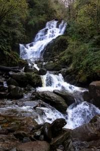 Torc waterfall near Muckross House in Killarney