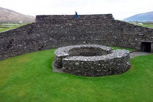 Leacanabuaile Ring Fort has survived 2,000 years intact