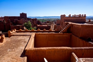 Ourzazate from the Palace Al Mouahidine