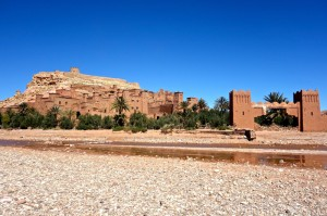 Kasbah Ait Ben Haddou is famous as a movie set