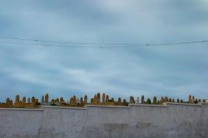 Al Yabouri Cemetary across from the Kasbah Oudayas