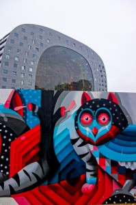 Markthal and clever street art