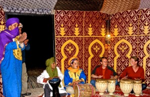 Jammin' with our Berber brothers