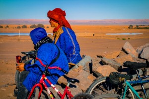 Berber teens and their bikes
