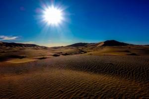 Sunset on the Sahara