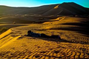 Mali contemplating life