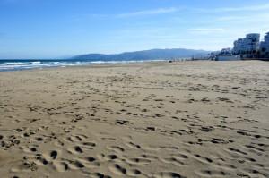 The beach at Martil