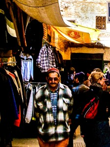 Walking the authentic souk