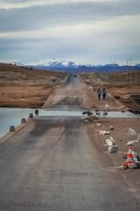 The main highway through the AntiAtlas Mountains